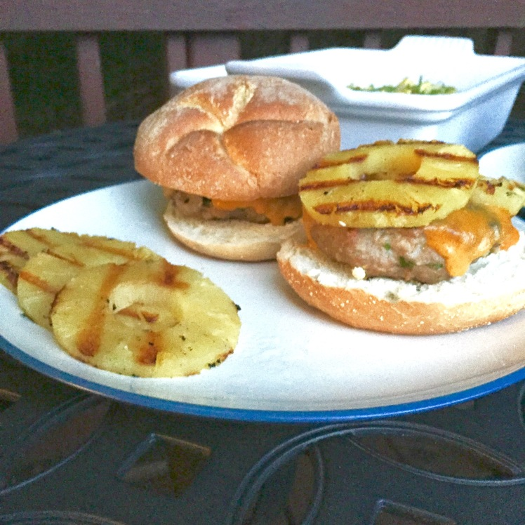 Hawaiian Turkey Burgers with Homemade Teriyaki Sauce – bender ...